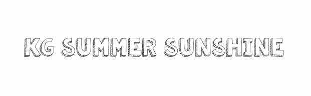 tendencias tipograficas fuentes gratis free fonts kg summer sunshine