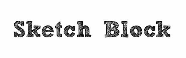 tendencias tipograficas fuentes gratis free fonts sketch block