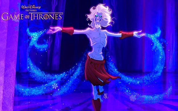 juego de tronos versión Disney 01