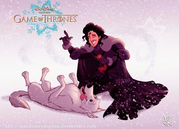 juego de tronos versión Disney 02