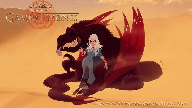 juego de tronos versión Disney 03