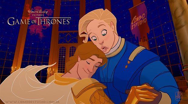 juego de tronos versión Disney 05