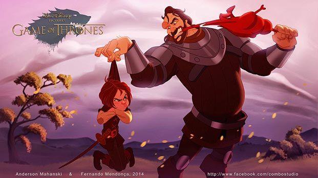 juego de tronos versión Disney 06