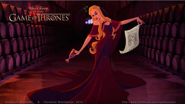 juego de tronos versión Disney 07