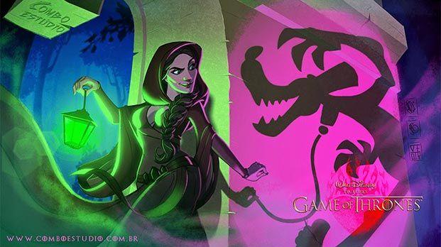 juego de tronos versión Disney 09