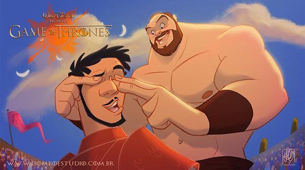 juego de tronos versión Disney 10